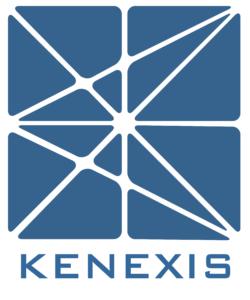 Kenexis logo vertical format